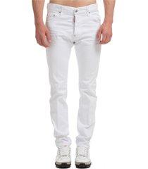 jeans uomo white bull