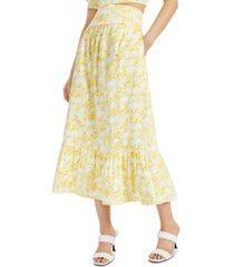 inc petite tiered a-line skirt, created for macy's