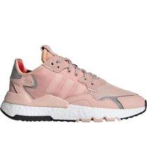zapatilla rosa adidas nite jogger