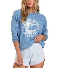 women's keep tryin sweatshirt top