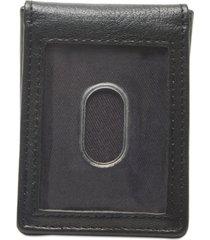 tommy hilfiger men's lloyd money clip leather wallet