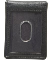 tommy hilfiger men's lloyd money clip leather wallet