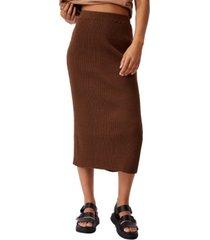 women's stella knit midi skirt