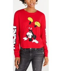 disney juniors' cotton mickey mouse graphic t-shirt