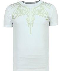 eagle glitter - strakke t shirt heren