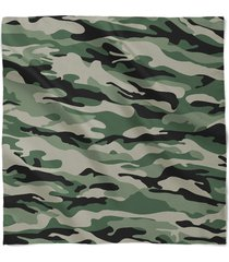 military camouflage satin style scarf