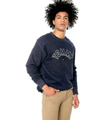 buzo azul tommy jeans