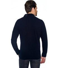 sweter hollins kr granatowy