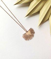 palmier- liść palmowy- naszyjnik