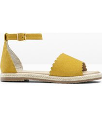 espadrillas in pelle (giallo) - bpc selection