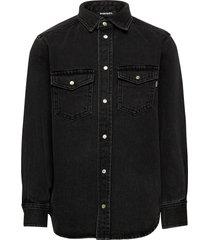 cdrookel over shirt overhemd zwart diesel