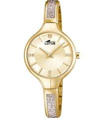 reloj bliss dorado lotus