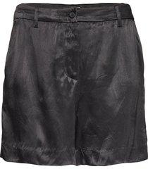 lr-florence shorts flowy shorts/casual shorts svart levete room