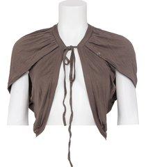 vest amy gee - fango - bruin / brown