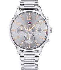 reloj tommy hilfiger 1781871 plateado -superbrands