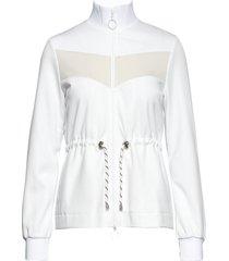jeanette sweat-shirt trui wit baum und pferdgarten