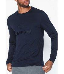 lacoste t-shirt tröjor navy