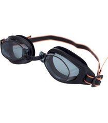 óculos de natação speedo freestyle 3.0 new - adulto - preto/cinza esc