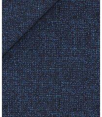 giacca da uomo su misura, vitale barberis canonico, lana lino blu, primavera estate | lanieri