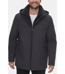 calvin klein men's infinite stretch jacket with polar fleece lined bib