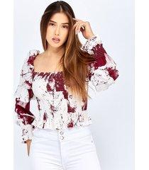 blusas vinotinto derek 818570