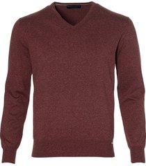 gentiluomo pullover - slim fit - rood