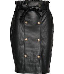 willow skirt kort kjol svart gina tricot