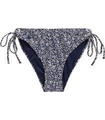 floral side-tie bikini bottom