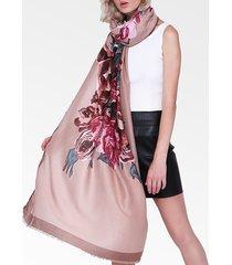 sciarpa calda traspirante traspirante in lino cotone vintage vogue da donna 180 * 90cm scialle oversize