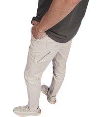 pantalon pmp slim carpintero beige