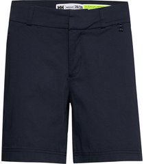w crew shorts shorts flowy shorts/casual shorts blå helly hansen