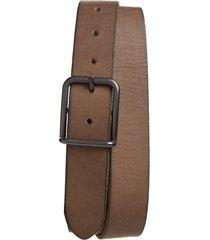 men's allsaints leather belt, size 36 - grey