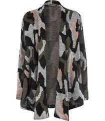 casaco kika simonsem tricot militar