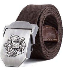 cinturon tactico reata emblema ruso unisex 1502 cafe 130cm