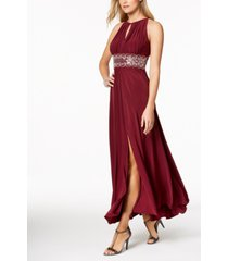r & m richards beaded gown