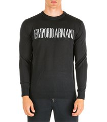emporio armani wings jumper