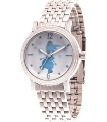 disney frozen 2 olaf women's silver vintage alloy watch 38mm
