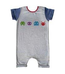 pijama curto comfy pixel