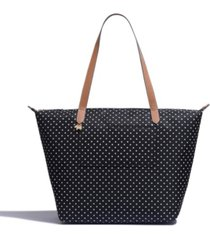 women's large ziptop tote bag