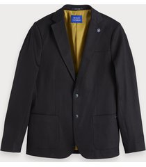 scotch & soda blazer van stretch denim