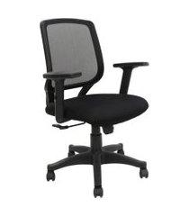 cadeira de escritório diretor ávila i estofada preta