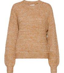 anf womens sweaters stickad tröja beige abercrombie & fitch