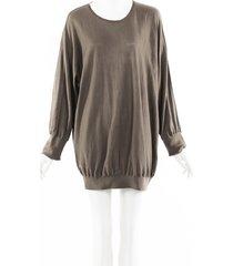 stella mccartney wool silk knit dress