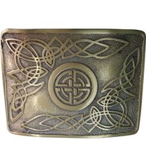 mens kilt belt buckle celtic knot work antique finish/celtic swirl belt buckles