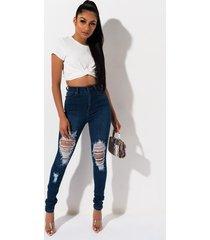 akira rebeca high rise stretchy distressed skinny jeans