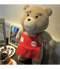 46cm 18'' ted movie teddy bear shirt plush stuffed animal soft toy dol