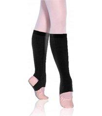 polaina ballet adulto sã³ danã§a acrilica - preto - feminino - dafiti