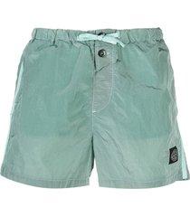 stone island shell swim shorts - green