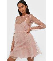 pieces pcesra ls dress d2d loose fit dresses