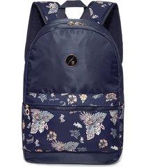 mochila hang loose gail azul escuro azul - azul - dafiti
